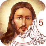 Bible Coloring – Paint by Number, Free Bible Games APK MOD 2.22.0