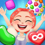 Candy Go Round – #1 Free Candy Puzzle Match 3 Game APK MOD 1.10.0