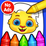 Coloring Games: Coloring Book, Painting, Glow Draw APK MOD 1.1.3