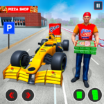 Formula Car Pizza Delivery New Car Driving Game APK MOD 1.0.8