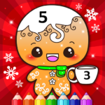 Happy Kids Christmas Coloring Book By Numbers APK MOD 2.4