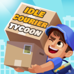 Idle Courier Tycoon – 3D Business Manager APK MOD 1.12.0