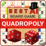 Quadropoly Best AI Board Business Trading Game APK MOD 1.78.87