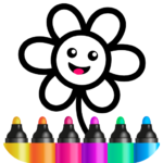 Toddler Drawing Academy🎓 Coloring Games for Kids APK MOD 2.0.0.21