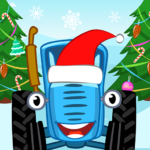 Blue Tractor Games for Toddlers 2 or 3 years old! APK MOD 1.1.2