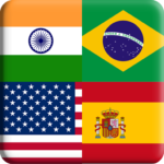 Flags Quiz Gallery : Quiz flags name and color APK MOD Flag 1.0.221