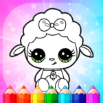 Flower Magic Color-kids coloring book with animals APK MOD 3.9