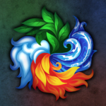 Masters of Elements-CCG game + online arena & RPG APK MOD 6.6.9
