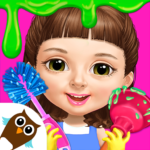 Sweet Baby Girl Cleanup 5 – Messy House Makeover APK MOD 7.0.30030