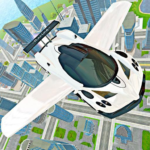 Flying Car Real Driving APK MOD 3