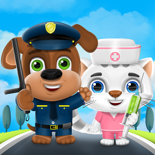 Kideo Town: Learn Professions APK MOD 1.0.8