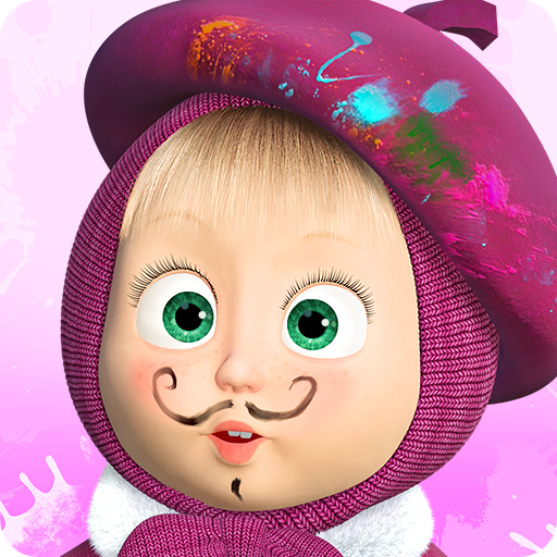Masha and the Bear: Free Coloring Pages for Kids APK MOD 1.7.6
