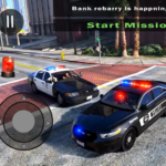 Police Car Driving in City APK MOD 406