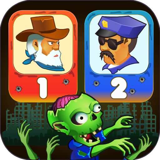 Two guys & Zombies (two-player game) APK MOD 1.3.1