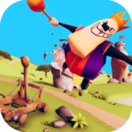 Catapult Shooter 3D💥: Revenge of the Angry King👑 APK MOD 1.0.19