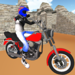 Motorcycle Escape Simulator – Fast Car and Police APK MOD 2