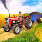 Tractor Trolley Drive Offroad Cargo: Tractor Games APK MOD 1.0.8