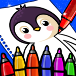 Happy Coloring Book Learn Paint : Coloring Games APK MOD 0.13