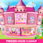 Princess House Cleanup For Girls: Keep Home Clean APK MOD 25.0.0