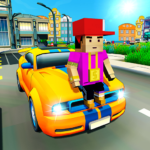 Virtual Life In A Simple Blocky Town APK MOD 1.13