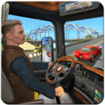 In Truck Driving Games : Highway Roads and Tracks APK MOD