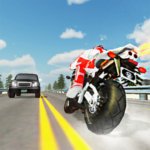 Extreme Highway Traffic Bike Race :Impossible Game APK MOD 1.0