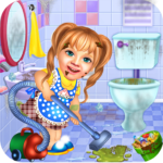 Sweet Baby Girl Cleaning Games 2021: House Cleanup APK MOD v1.0.5