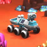 Space Rover: Idle planet mining tycoon simulator APK MOD